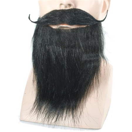Costume Goatee (Goatee & Mustache Full Brown Wig)