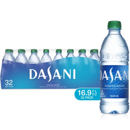 Dasani Purified Water, 500 mL, 32 Count
