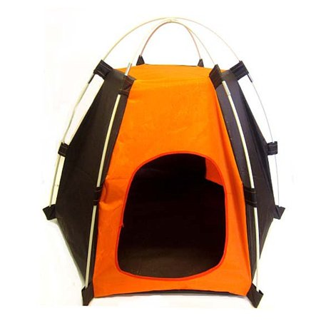 Dog or Cat Hexagon Tent House for Indoor or Outdoor (Best Outdoor Dog House)