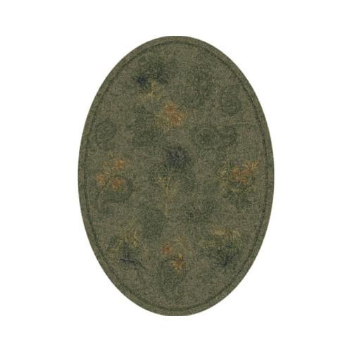 Milliken Pastiche Vintage Cilantro Oval Rug