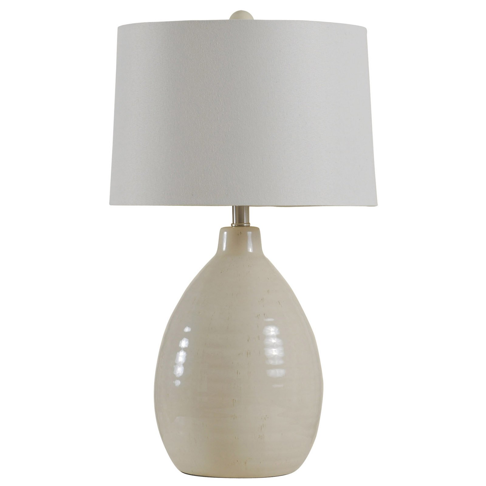StyleCraft Gourd Ceramic Table Lamp