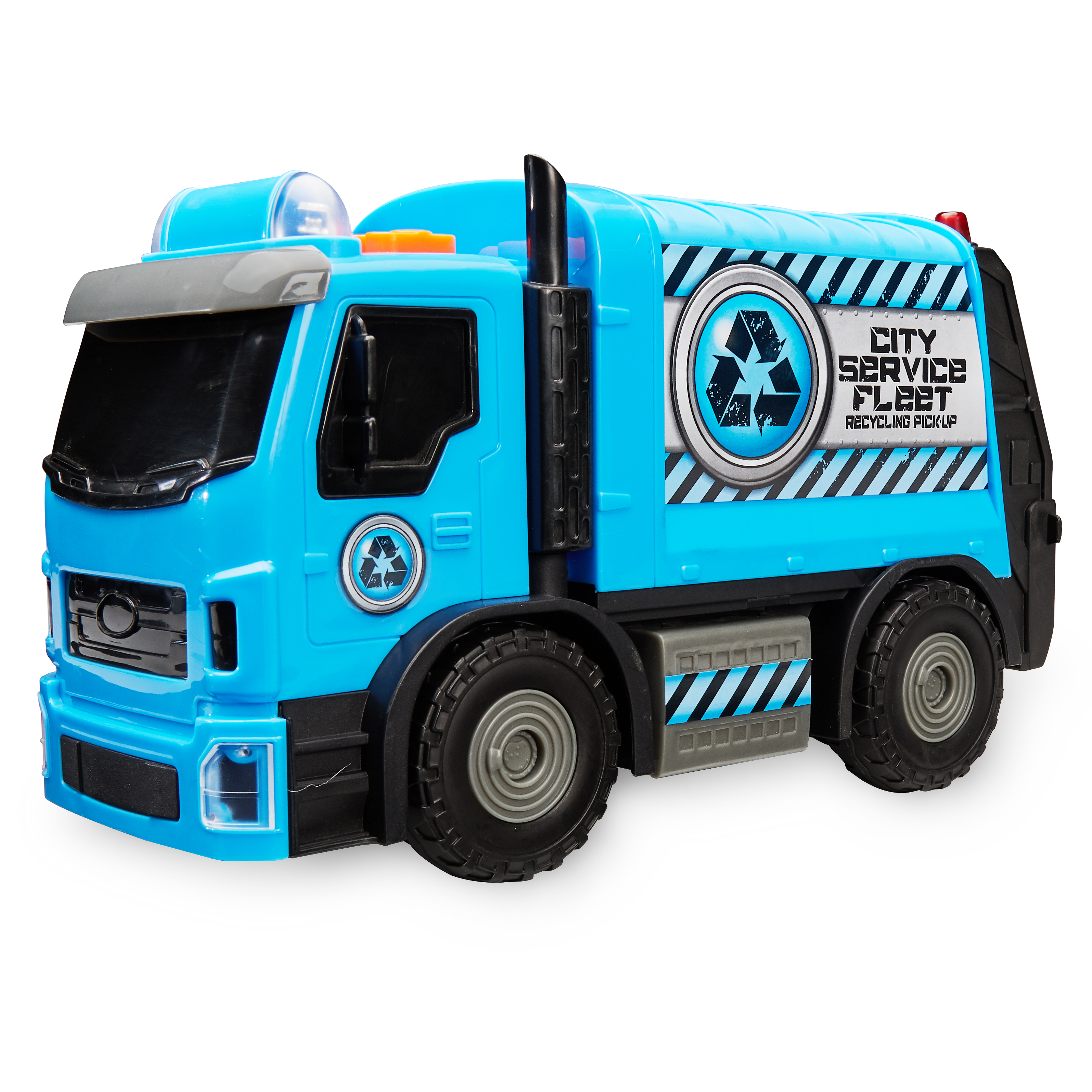 Adventure Force City Vehicles Motorized Vehicle, Recycling Truck