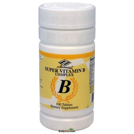 NuHealth vitamine B complexe, 100 comprimés