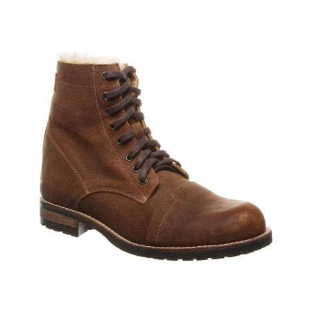 Luxe De Leon Mens Arco Leather Closed Toe Ankle Fashion Boots