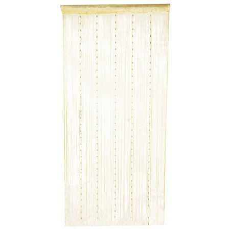 Home Decor Room Diver Doorway Screen Wall Panel Hangings String Curtain Beige ()