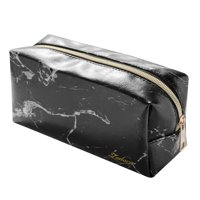 bd7a95fdbd62d8 Product Image Zodaca Marble Patterned Cosmetic Makeup Toiletry Beauty Travel  Zipper Bag Pouch