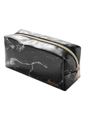 Product Image Zodaca Marble Patterned Cosmetic Makeup Toiletry Beauty  Travel Zipper Bag Pouch 225b64c001240