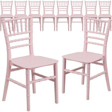 Flash Kids Pink Resin Chiavari Chair