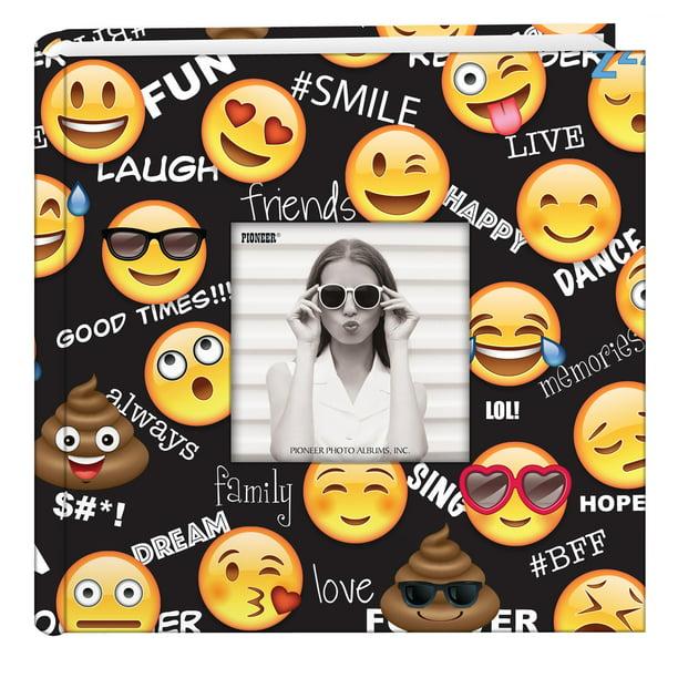 Pioneer Photo Albums Emoji Designer Photo Album Walmart Com Walmart Com