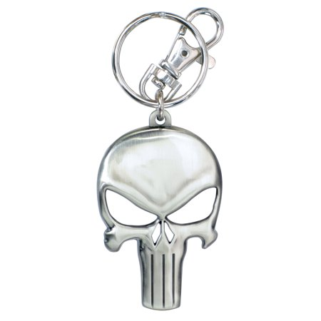 Punisher Pewter Keychain