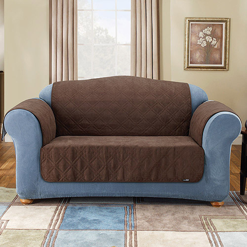 Sure Fit Suede Pet Throw - Loveseat