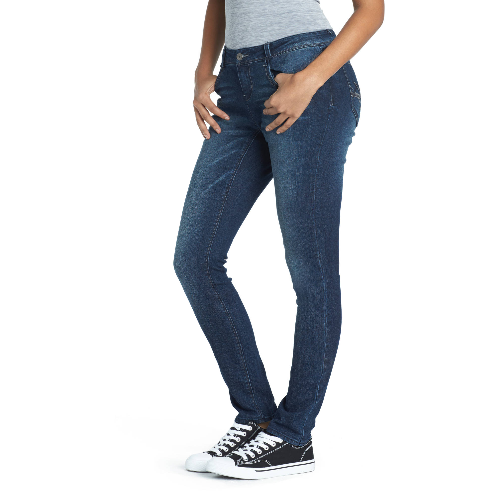 L.E.I. Juniors' Curvy Skinny Jeans