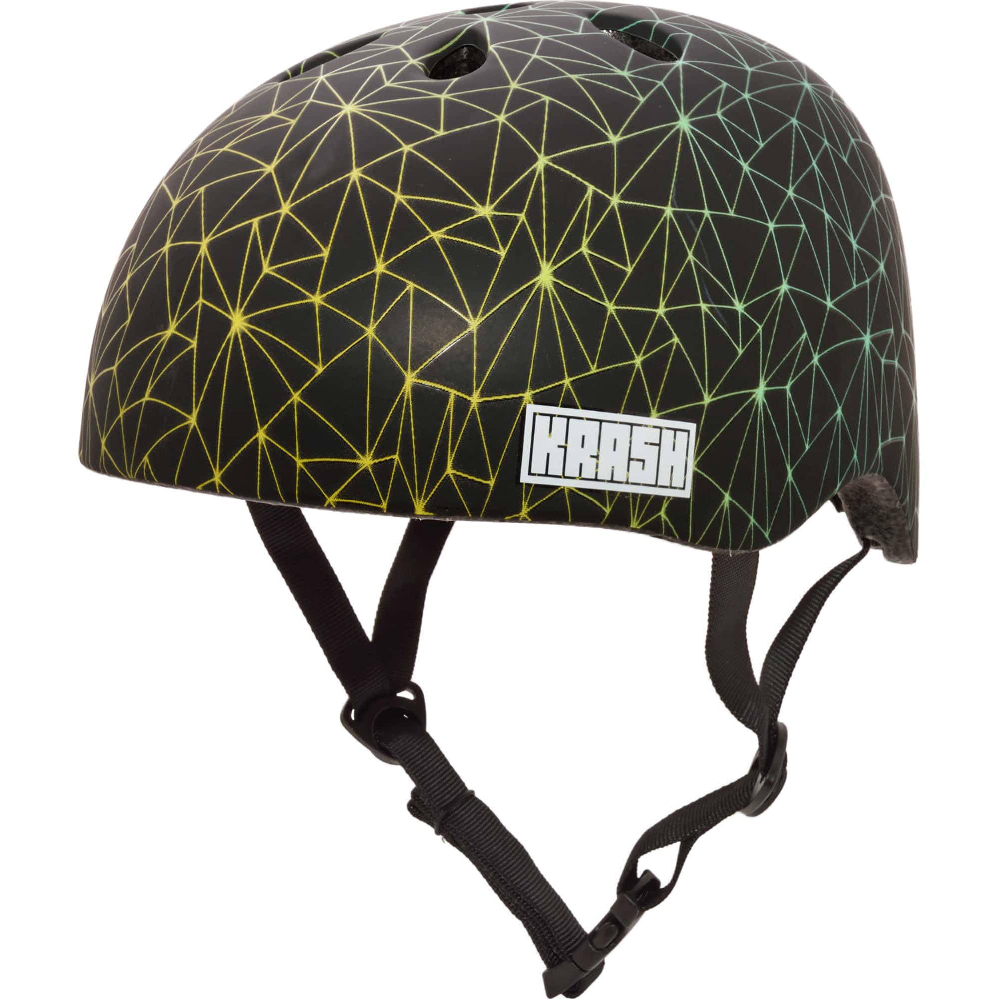 Krash! Neon Beams Multisport Helmet, Youth 8+ (54-58cm)