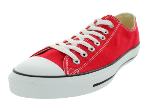 Converse Unisex Chuck Taylor All Star Low Top Red Sneakers - US Men 5 / US Women 7