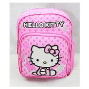 Mini Backpack - Hello Kitty - Pink Stars & Dot New School Bag Book Girls 81404
