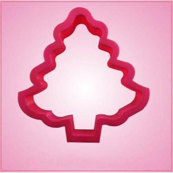 pink christmas tree cookie cutter - Christmas Cookie Cutters Walmart