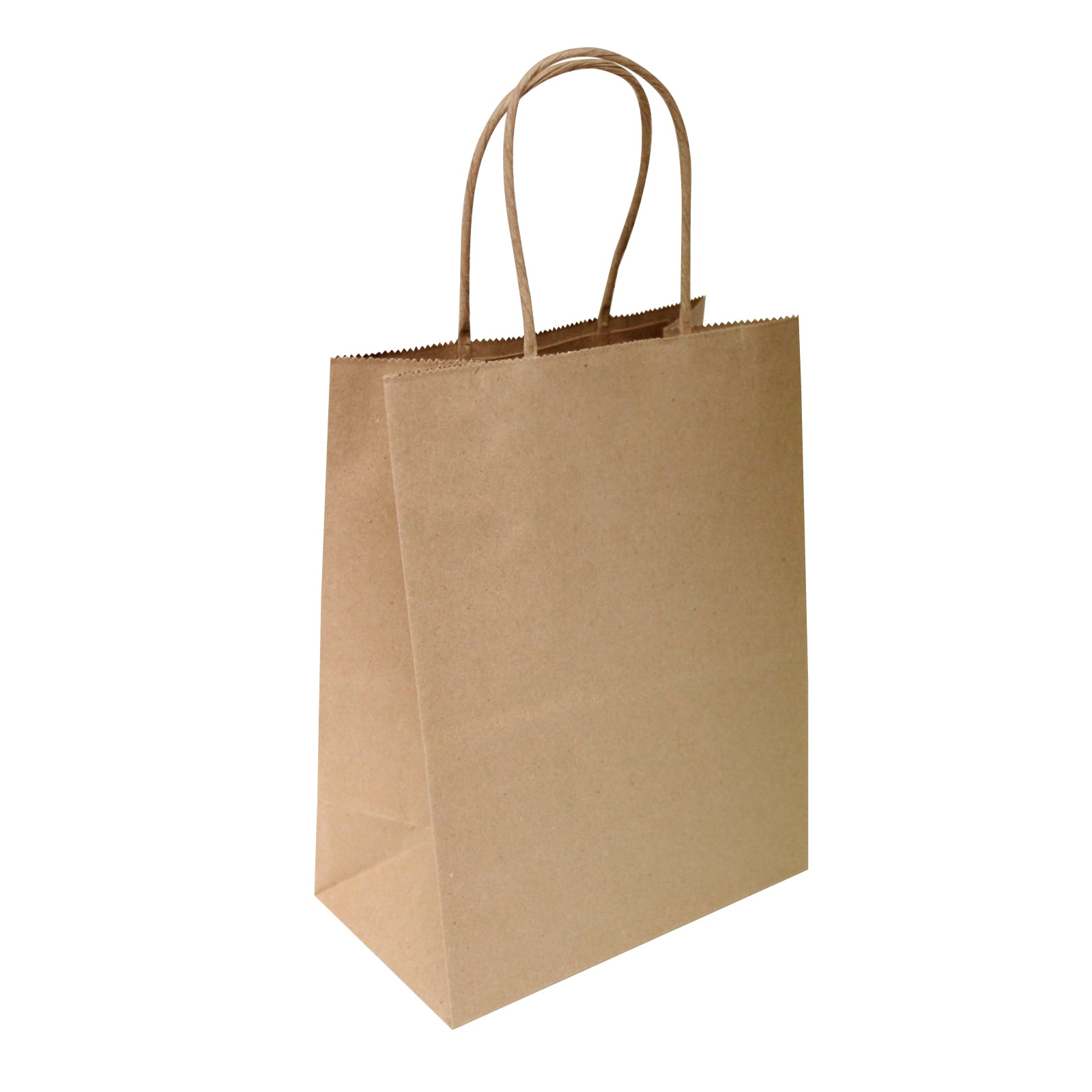 "50 Pcs Shopping 10/""x5/""x13/"" New Brown Kraft Paper Bags Party.. Mechandise"