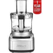 Cuisinart Elemental 8-Cup Food Processor, Silver (FP-8SV) with 1 Year Extended Warranty