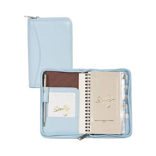 "Scully Zip Pocket Agenda Soft Lamb 5008Z  4.5"" x 7"" x 1"""
