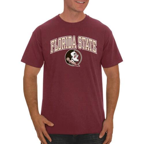 NCAA Florida State Seminoles Mens NCAA Mens Short Sleeve Football Season Jersey Teechampion NCAA Mens Short Sleeve Football Season Jersey Tee Garnet Large