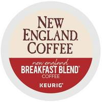 New England Coffee New England Breakfast Blend - K-Cup - Breakfast Blend - Medium - 24 / Box