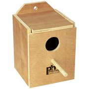 BPV1101 Wood Inside Mount Nest Box for Birds, Finch By Prevue Pet Products