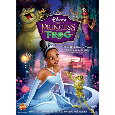 The Princess and the Frog (DVD) - Cheap Disney Movies