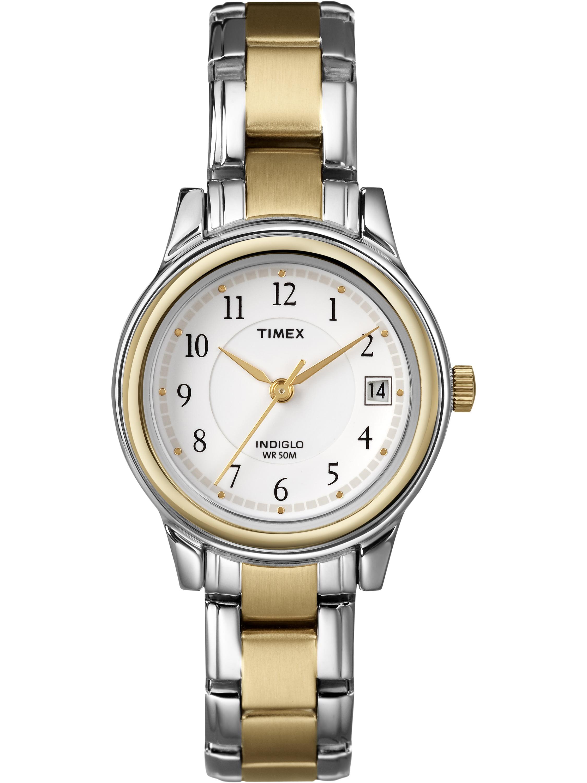 Timex Women's Porter Street Watch, Two-Tone Stainless Steel Bracelet by Timex