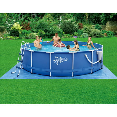 Summer Escapes 15 39 X 42 Metal Frame Swimming Pool