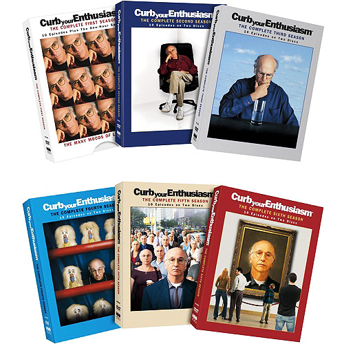 Curb Your Enthusiasm: The Complete Seasons 1-6 by