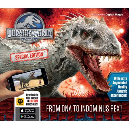 Jurassic World Special Edition   From Dna To Indominus Rex