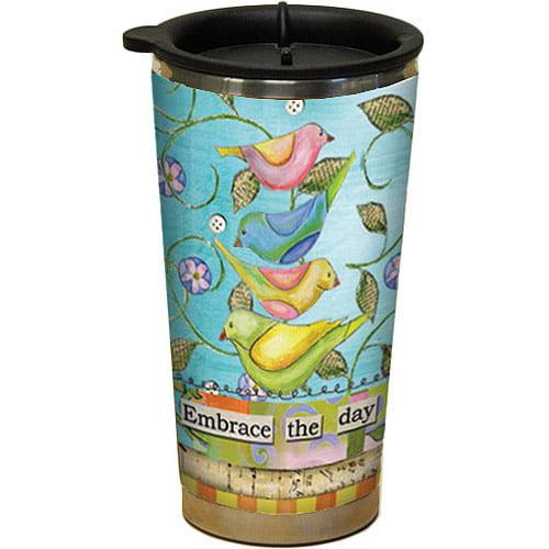 Lang Embrace the Day Traveler Mug