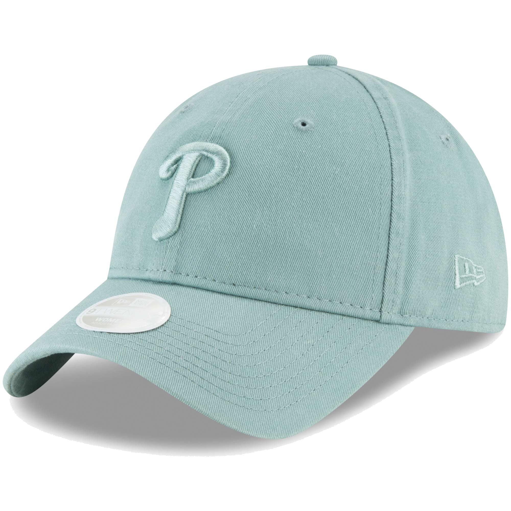 Philadelphia Phillies New Era Women's Core Classic Twill 9TWENTY Adjustable Hat - Light Blue - OSFA