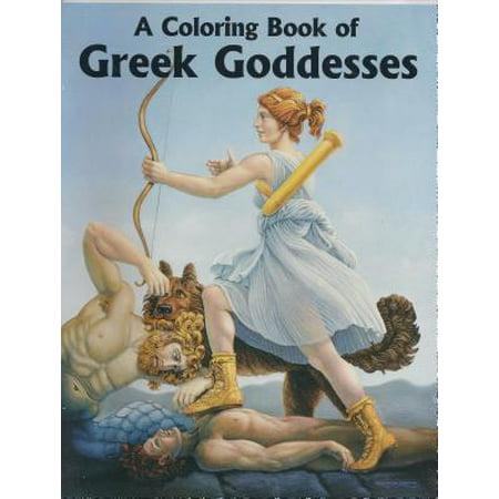 A Coloring Book of Greek Goddesses](Greek Goddesses Dresses)