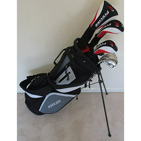 Left Handed Fairway Woods - Mens Left Handed Complete Golf Set Driver, Fairway Wood, Hybrid, Irons, Putter & Stand Bag
