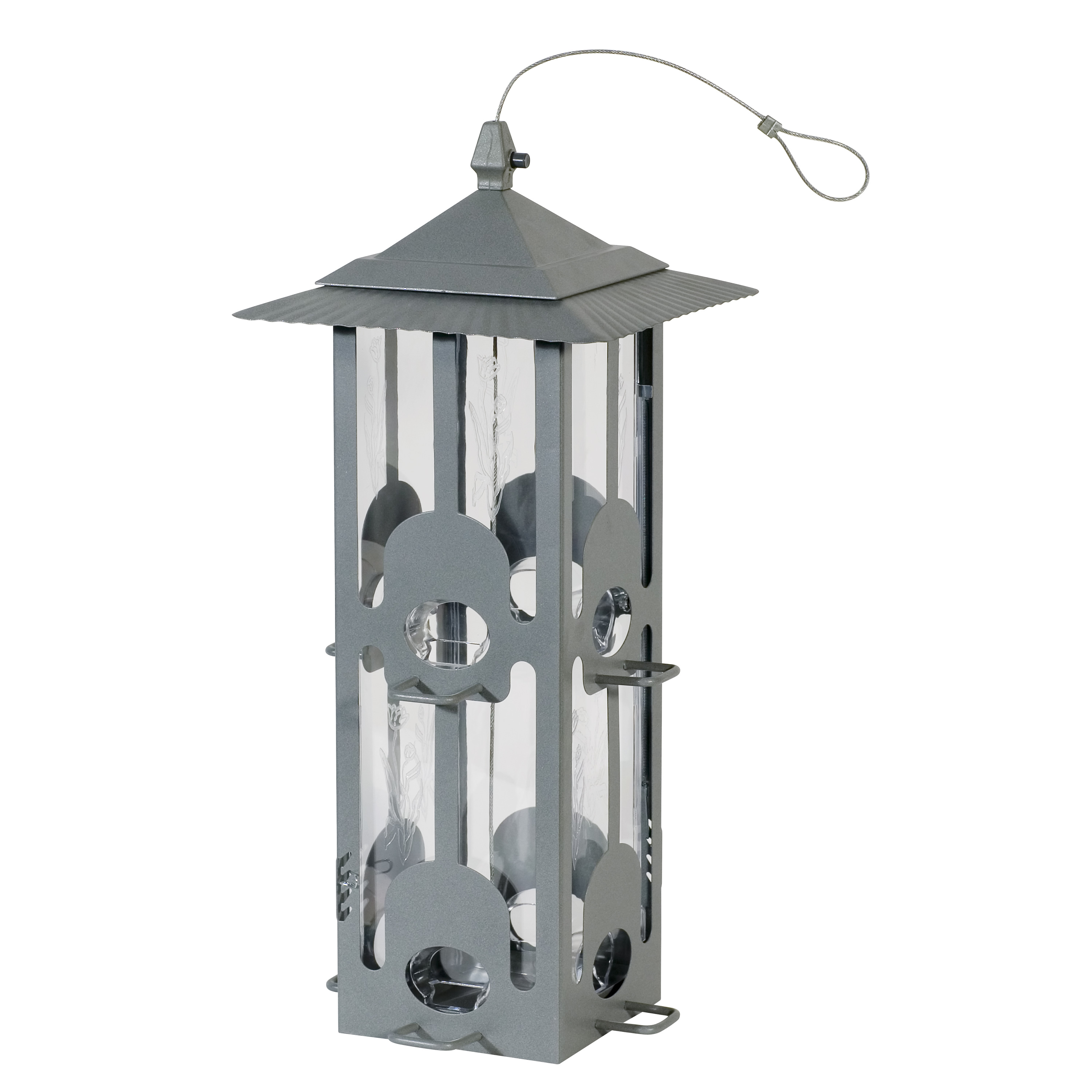 Perky-Pet 6 lb Squirrel-Be-Gone Wild Bird Feeder