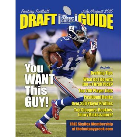 Fantasy Football Draft Guide July/August 2015 (Best Order To Draft Fantasy Football 2015)