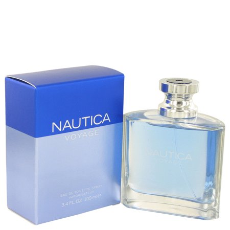 Nautica Voyage Eau de Toilette Spray for Men, 3.4 fl (Best Cologne To Cover Up Weed)