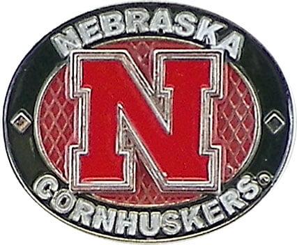 Nebraska Cornhuskers Oval Pin by