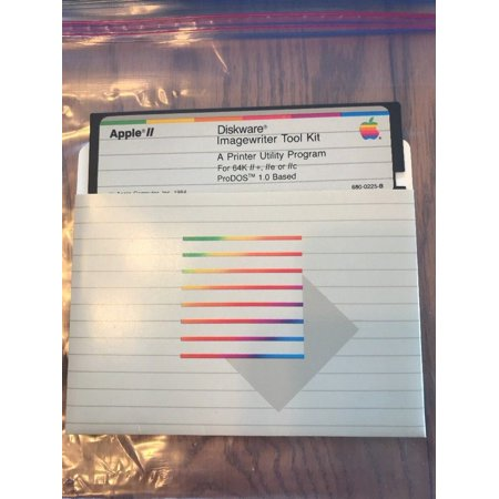 Diskware ImageWriter Tool Kit A Printer Utility Program for Apple