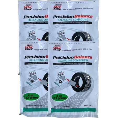 4 REMA PrecisionBalance 4 oz Tire Balance Beads Kits (16 ounces) Drop in