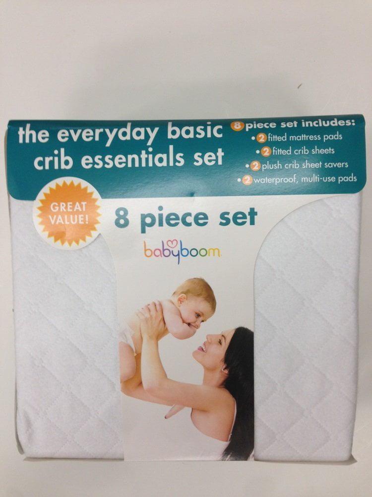 Baby Boom 8 Piece Crib Set by BaBoom