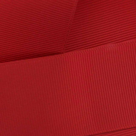 "2.25"" Red Grosgrain Ribbon Solid 5 yard"