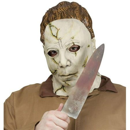Halloween Cake Knife Blood (Michael Meyers Mask and Knife Set Adult Halloween)