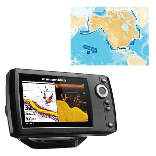 Helix 5 Chirp DI GPS G2 w/ Nav Plus Helix 5 CHIRP DI/GPS G2 Combo