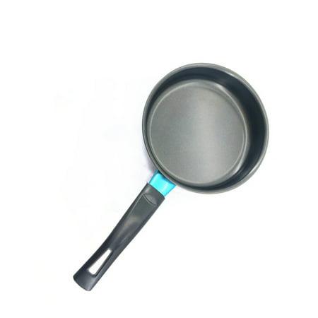 Mini Non-sticky Flat Base Egg Pancake Frying Pan Kitchen Tool Cooker Pot Size:14cm (Mini Pancake Pan)