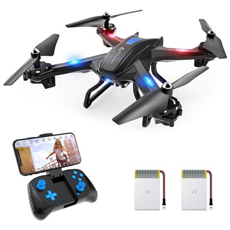 SNAPTAIN S5C FPV RC Drone with 720P HD Camera Live Video WiFi Quadcopter with Altitude Hold Headless Mode, Gravity Sensor, RTF and Easy to Fly for Kids and Beginners, Compatible with VR
