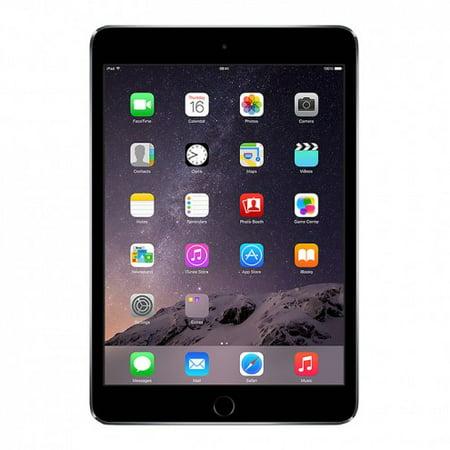 Refurbished iPad Mini 3 Retina Wifi Space Gray 64GB (MGGQ2LL/A)(2014) 1 Year Warranty (Ipad Mini 64 Gb Wifi 3g)