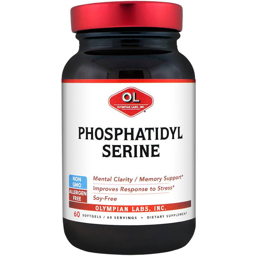 Olympian Labs-Phosphatidylserine, 100mg 60ct