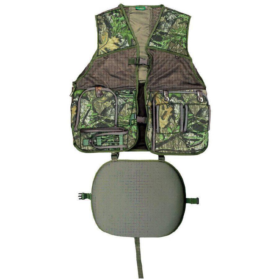 Primos PS6560 Gobbler Vest Camo L/XL Mesh and TreeHide